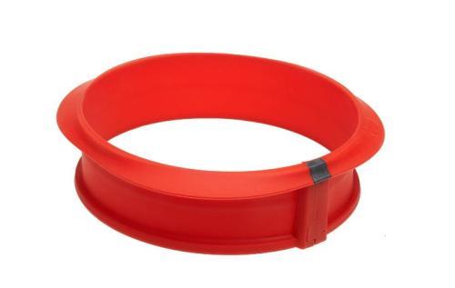 Moule à manqué démontable Lékué Duo 23 cm rouge