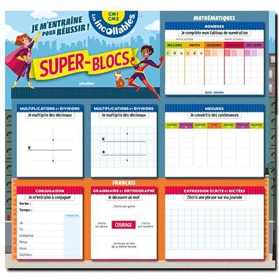 Super Blocs pour m'entrainer et réussir CM1-CM2 Cycle 3