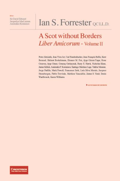 Ian Forrester A Scot Without Borders Liber Amicorum