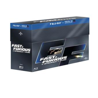 Fast And FuriousFast & Furious 1 à 7 Blu-ray