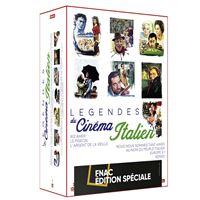 Coffret Les légendes du cinéma italien 7 Films Edition Fnac DVD