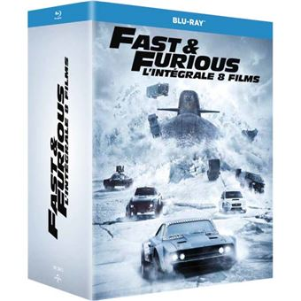 Fast And FuriousFast and Furious 1 à 8 Coffret Blu-ray