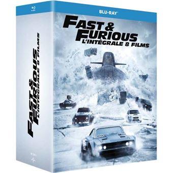 Fast And FuriousCoffret Fast and Furious 1 à 8 Blu-ray