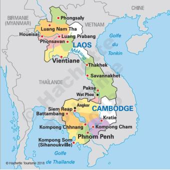 Carte Thailande Le Routard.Guide Du Routard Cambodge Laos 2018