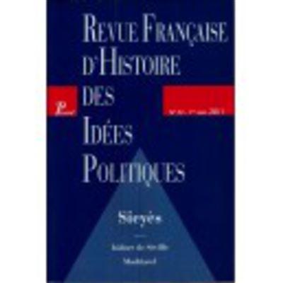 Revue Française d'Histoire des Idées Politique