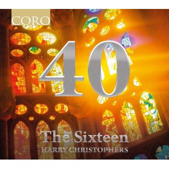 40 The Sixteen Harry Christophers Digipack