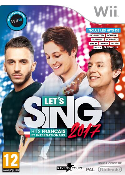 Let's Sing 2017 Hits Français et Internationaux Wii + 2 Micros
