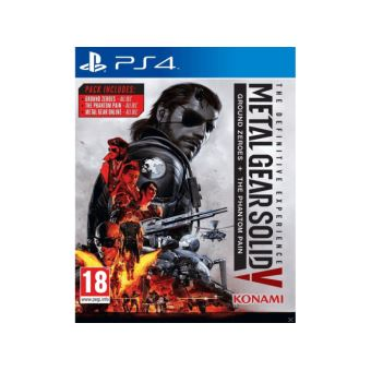Metal gear solid V definitive edition  UK PS4