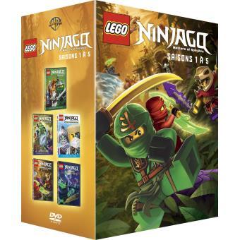 Lego ninjago saisons 1 5 coffret dvd dvd zone 2 - Ninjago saison 7 ...