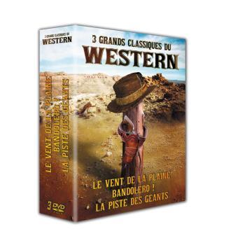 Coffret 3 grands classiques du Western 3 films DVD