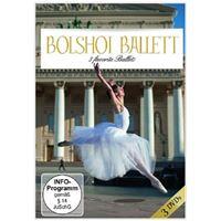 3 favorite ballets/casse noisette/cendrillon/bajazzo