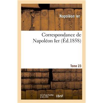 Correspondance de Napoléon Ier