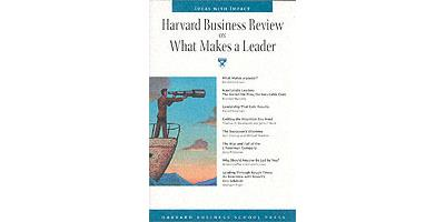 Harvard business school review on what makes a leader