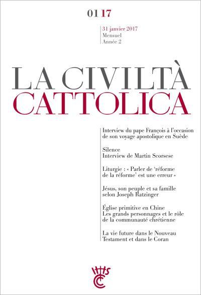 Civilta cattolica janvier 2017