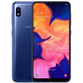 "Smartphone Samsung Galaxy A10 Bleu 4G 6,2"" 32Go"