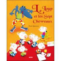 Le loup et les 7 chevreaux - nouvelle edition