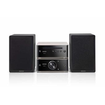 Système HiFi Denon Design 3050 PMA30 + DCD-50 avec lecteur CD et Bluetooth Noir et argent
