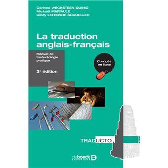 La Traduction Anglais Francais