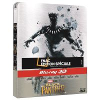 Black Panther Edition Fnac Steelbook Blu-ray 3D