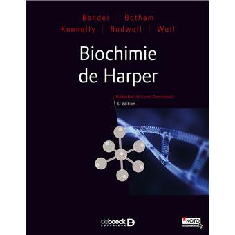 Biochimie De Harper 6ed Broche Bender Achat Livre Fnac
