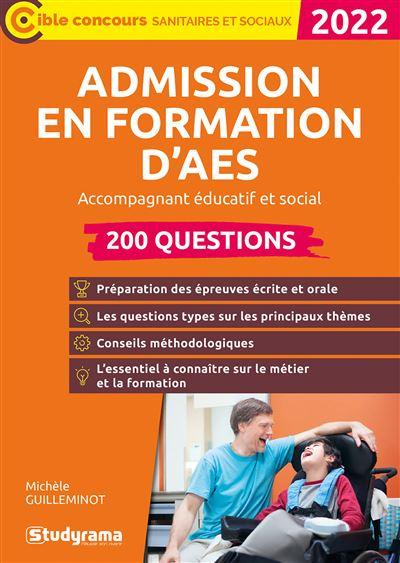 Admission en formation d'AES 2020