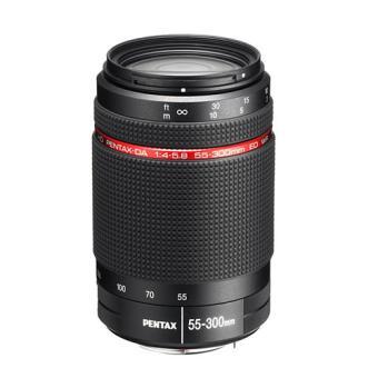 Pentax DA HD 55-300 mm f/4-5.8 ED WR Reflex Lens Zwart