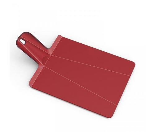 Planche à découper pliable Joseph Joseph Chop2Pot Mini Rouge