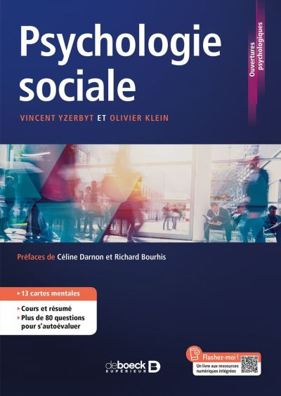 Psychologie sociale - 9782807330504 - 24,99 €