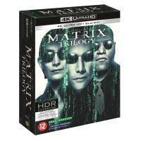 Coffret Matrix la trilogie Blu-ray 4K Ultra HD