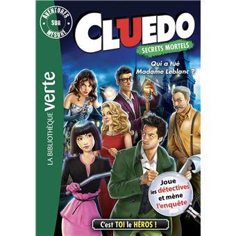 CluedoQui a tué Madame Leblanc ?