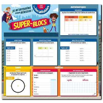 Super Blocs pour m'entrainer et réussir CE1-CE2 Cycle 2