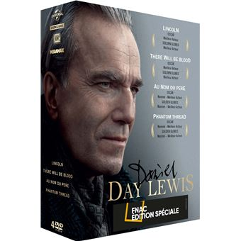 Coffret Daniel Day-Lewis Edition Fnac DVD