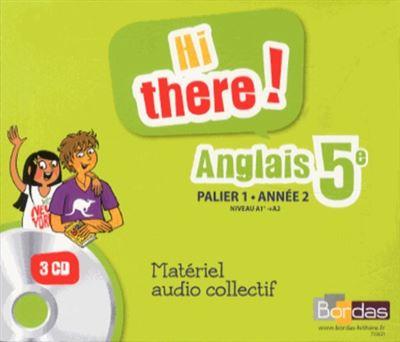 Hi there anglais 5ème