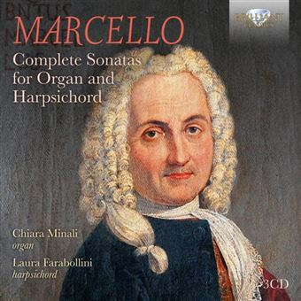 COMPLETE SONATAS FOR ORGAN AND HARPSICHORD