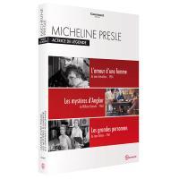 Coffret Micheline Presle : Actrice de légende 3 films DVD