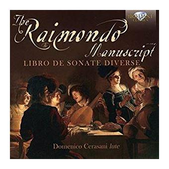 Raimondo manuscript/livre de sonates pour luth