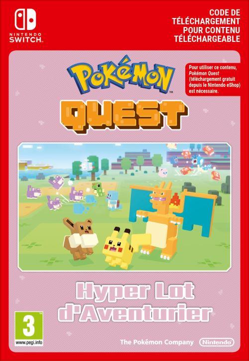 Code de téléchargement Pokémon Quest Ultra Expedition Pack Lot d?Aventurier Nintendo Switch