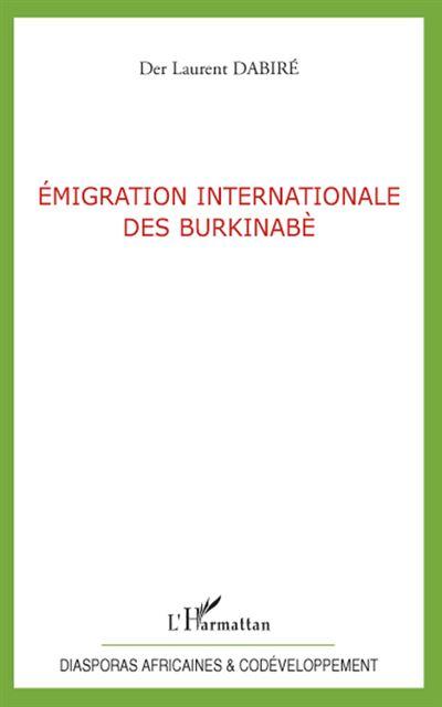 Emigration internationale des burkinabé