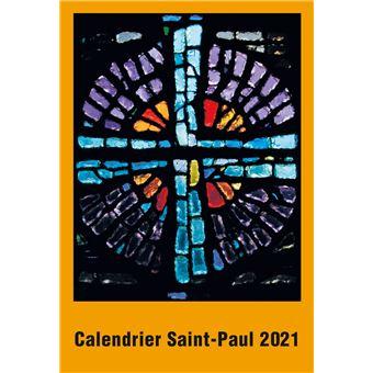 Calendrier Saints 2021 Calendrier Saint Paul 2021   broché   Raphaël Pasquier   Achat