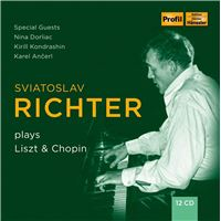 Sviatoslav Richter Plays Liszt & Chopin - 12CD