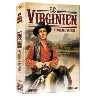 Le VirginienCoffret Le Virginien  Saison 1 DVD