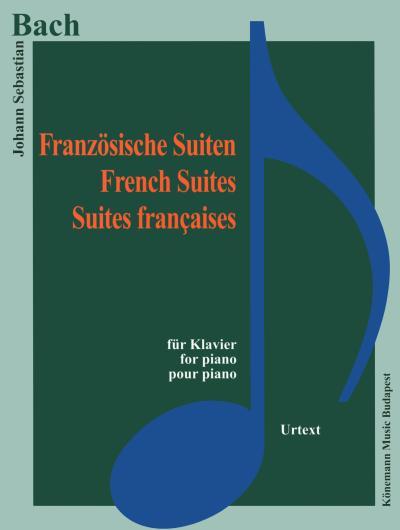 Partition - Bach - Suites françaises - pour piano