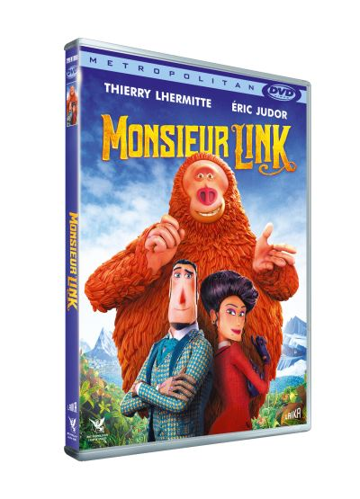 dvd du film monsieur link