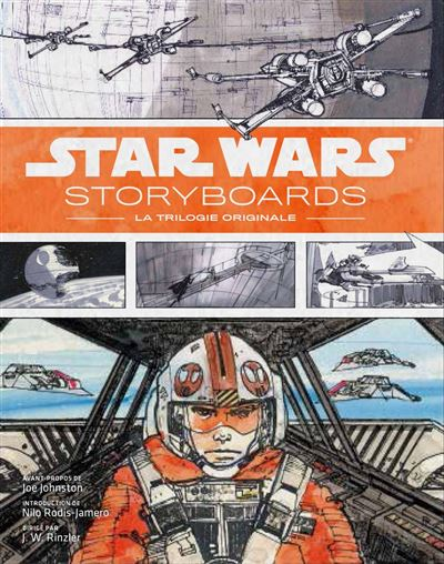 Star Wars, les storyboards