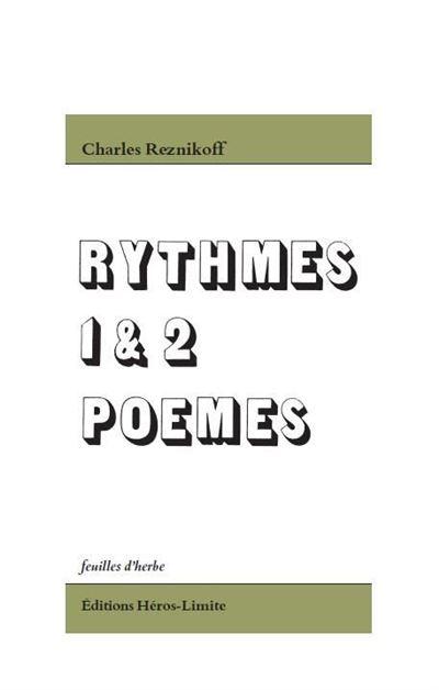 Rythmes I et II, poèmes