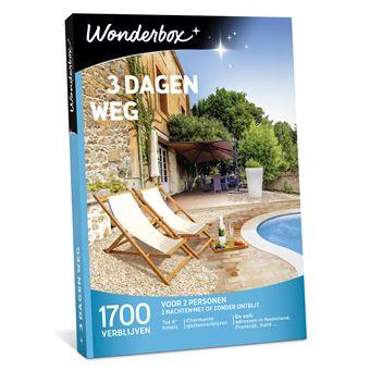 Wonderbox NL 3 dagen weg