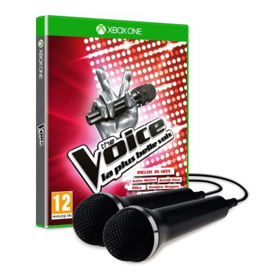 The Voice : La plus belle voix Xbox One + 2 Micros