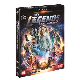 DC's Legends of TomorrowDC's Legends of Tomorrow Saison 4 DVD
