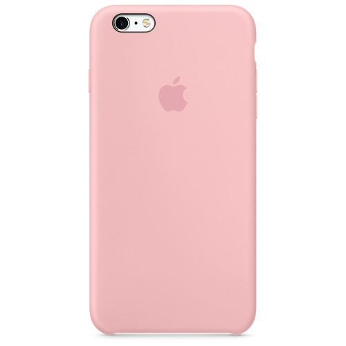 Coque Apple pour iPhone 6s Plus en silicone Rose
