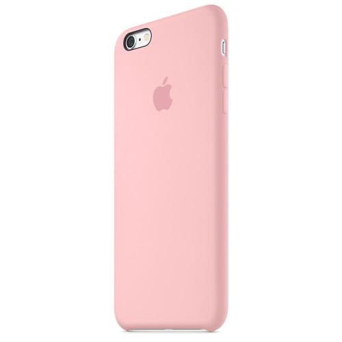 Coque Apple pour iPhone 6s Plus en silicone Rose